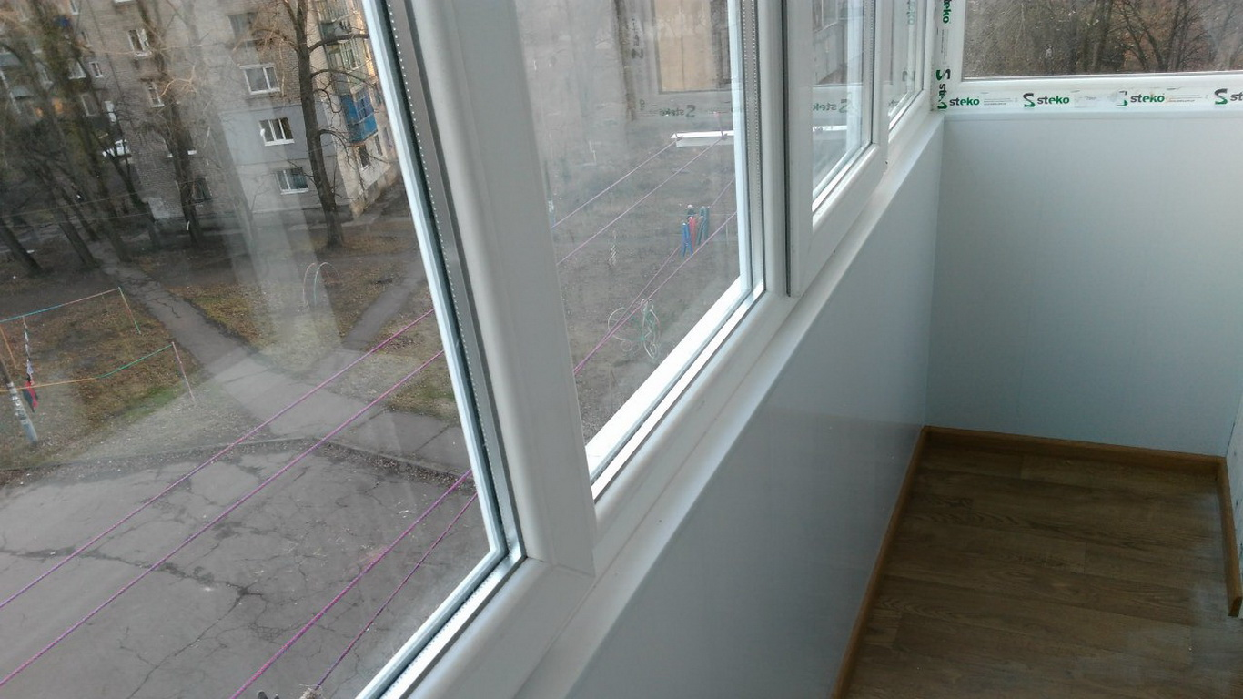 Обшивка балкона Кривой Рог Окна