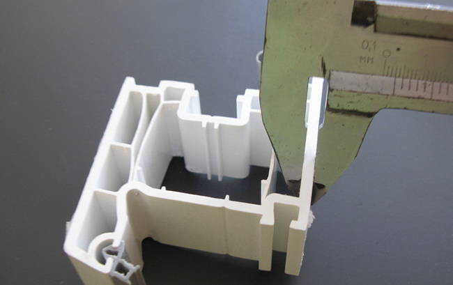Металлопластиковые окна толщина стенок