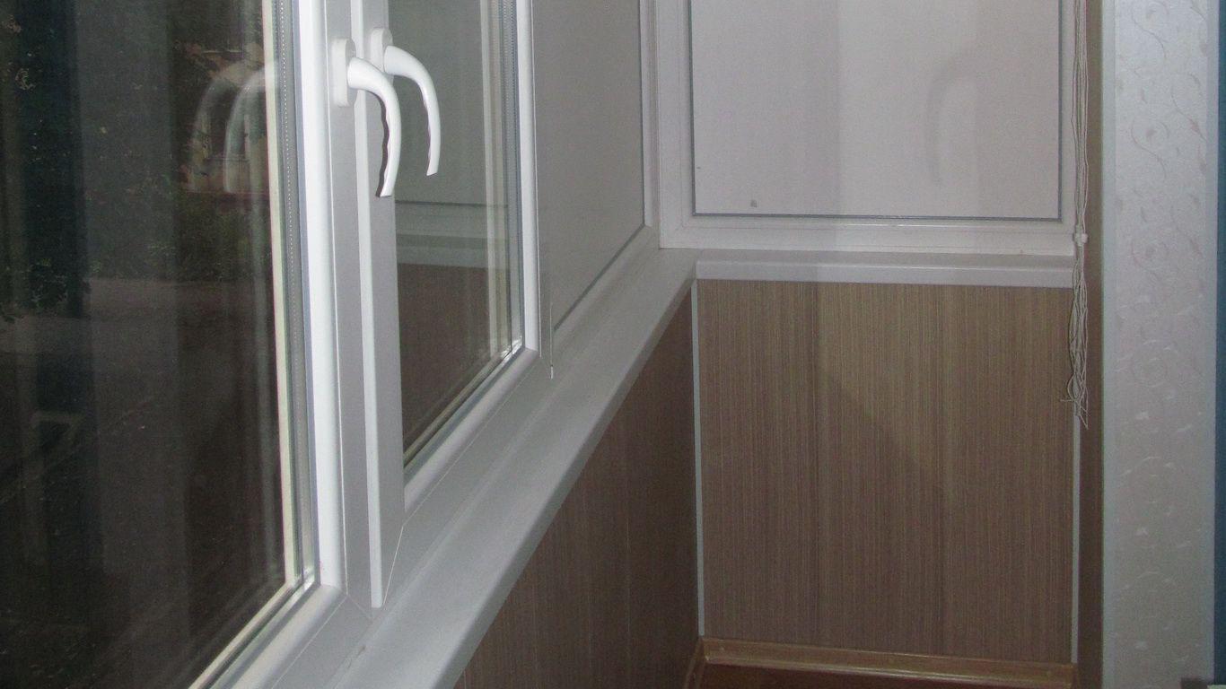 Обшивка балкона пластиком кривой рог фото цены - окна кривой.