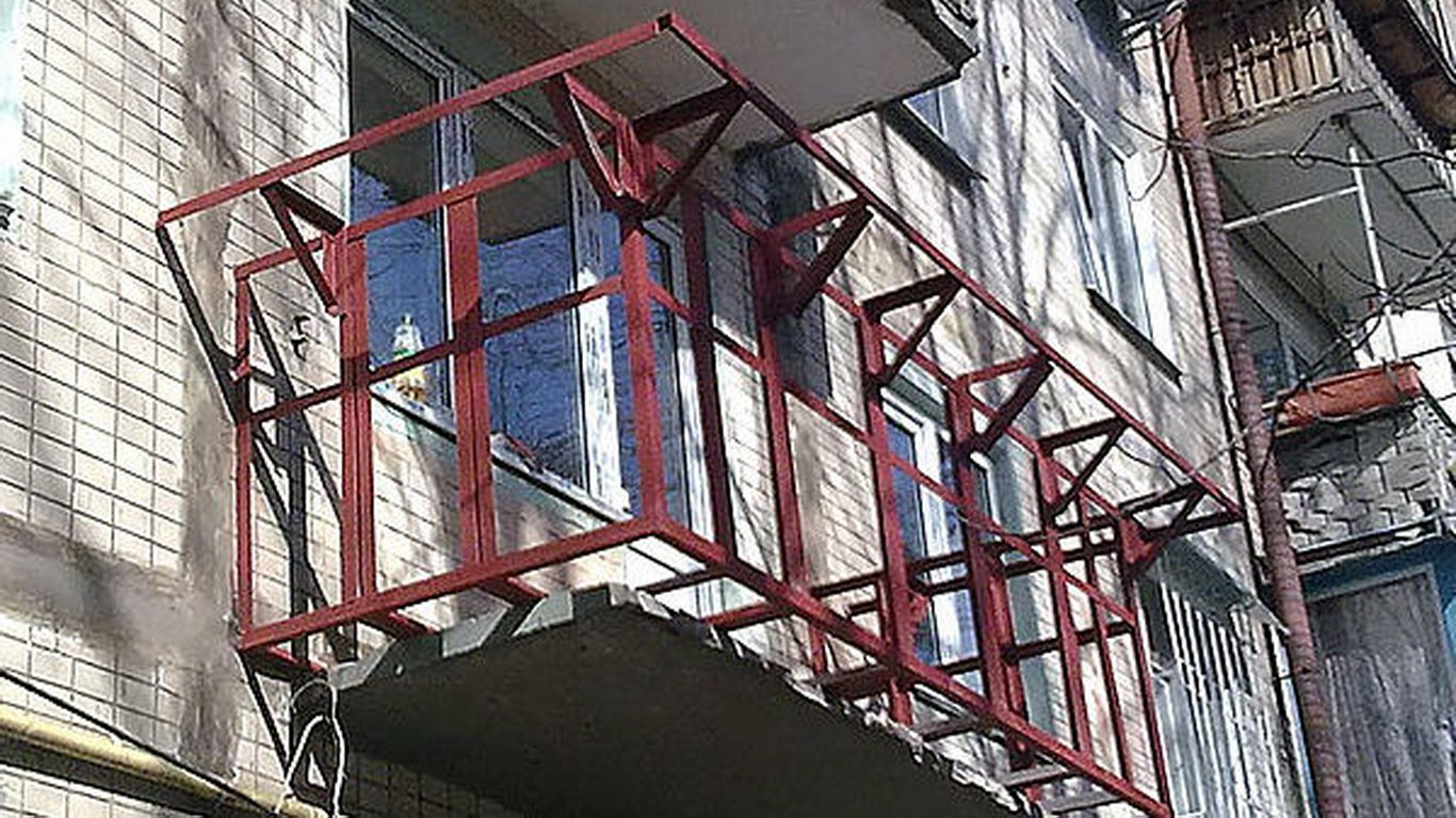 Выносные балконы фото..