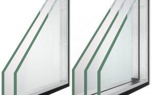 Отличия двух от трех стекол