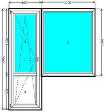 Купить балконный блок в Кривом Роге