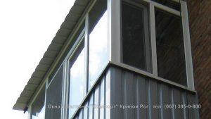 крыша на балкон последнего этажа кривой рог