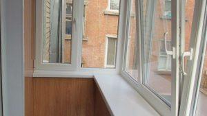 Обшивка балкона пластиком Кривой Рог Фото Цены