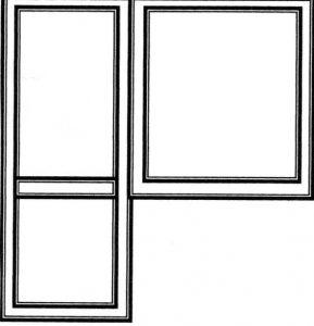 Схема балконного блока